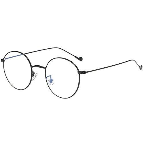 Zhuhaixmy Dauerhaft Metall Rahmen Negativ Stärke Kurzsichtigkeit Gläser Kurzsichtig Brillen Suitable für Meisten Kinds Gesicht Typ (Diese sind nicht Lesen Brille)