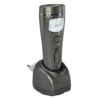 FISHTEC ® Lampe Torche Détection Mouvements 3 en 1 Chargement par Induction - 10 LED - 80 lumens