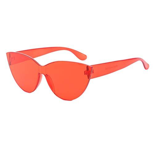 SuperSU Unisex schick Süßigkeitenfarbe Sonnenbrillen Design Brillen Mode Pilotenbrille Sonnenbrille für Herren und Damen Luxus UV-Schutz Sonnenbrille Fahren Sonnenbrille