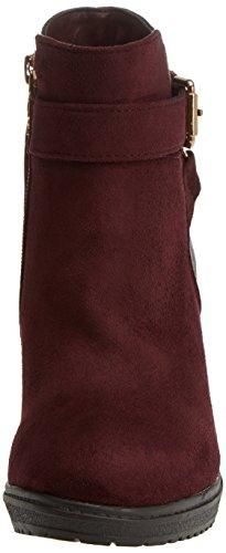 Xti - 047291, Bottes Pour Femmes Rouge (bordeaux)