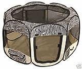 Zebra Pet Tent Exercise Pen Playpen Dog Crate - Best Reviews Guide