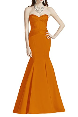 Missdressy - Robe - Crayon - Femme Orange