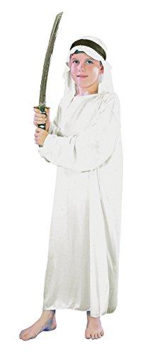 Kostüm Arabian Kopfbedeckung - Bristol Novelty CC487 Scheich Kostüm