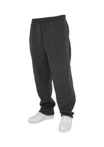 Urban Classics Jogginghose Sweatpants Trainingshose Tanzhose blanko zum Bedrucken Blank schwarz grau dunkelgrau charcoal S bis 5XL Farben Männer Herren Sporthose Fitnesshose Dance Hose (XL, dunkelgrau charcoal)