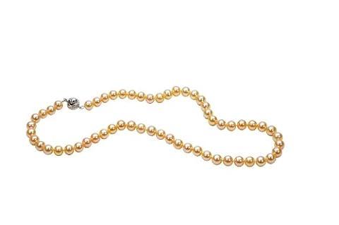 AAA 7,5–8mm Rose Collier de perles de culture de 18dans Princesse