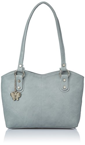 Butterflies Women's Handbag (Grey) (BNS 0362)