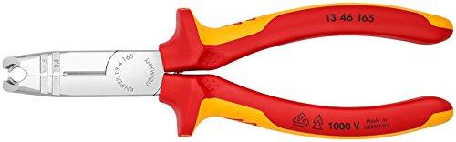 Knipex 13 46 165 VDE-Abmantelungszange mit Abisolier- und Schneidfunktion
