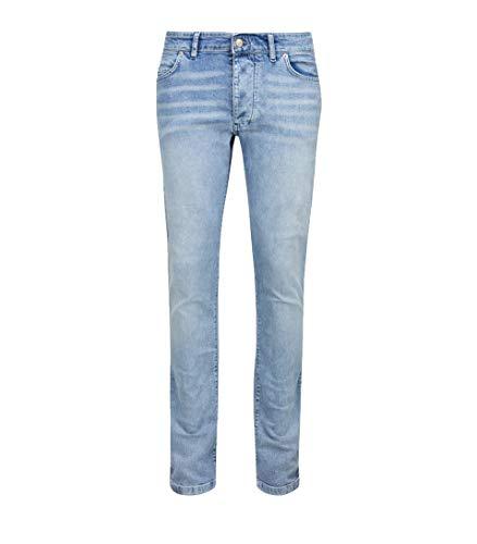 Drykorn Herren Jeans in Hellblau mit Waschung