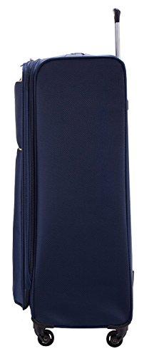 HAUPTSTADTKOFFER® 112 Liter (ca. 80 x 50 x 28 cm) Weichgepäck · Reisekoffer · MITTE LIGHT · in verschiedenen Farben (Lila) Blau