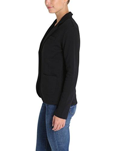 Berydale Damen Jersey-Blazer, tailliert Schwarz (Schwarz)