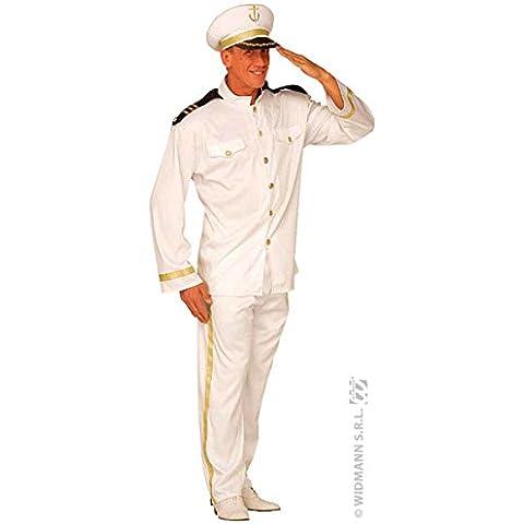 Mens Capitán Traje Extra Grande UK 46