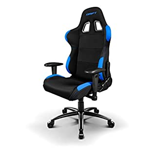 Drift DR100 – DR100BL – Silla Gaming, Color Negro/Azul