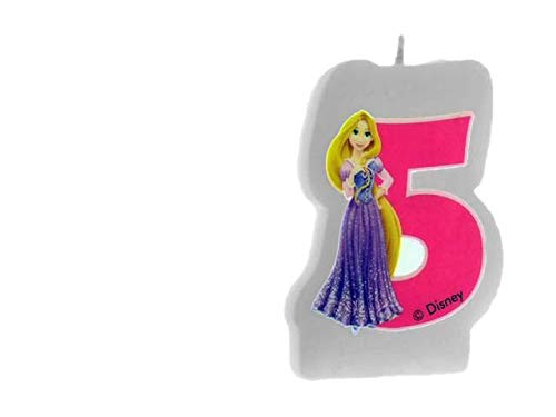 ALMACENESADAN 33546, Bougie Anniversaire Princesses Disney Nunemo 5