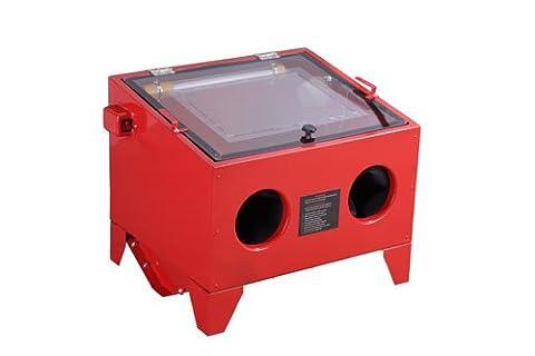 Bench Sandblaster Bead Sand Grit Blasting Blaster Blast Sandblasting Cabinet 90L (SBC90)