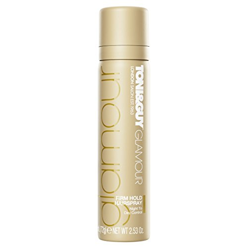 Toni & Guy Glamour Firm Hold Hairspray Noche contenido