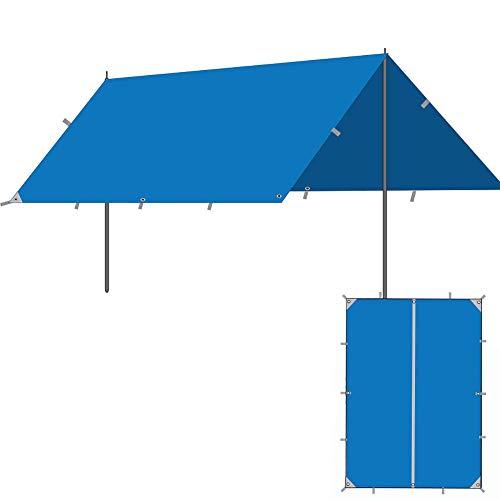 APENCHREN Sonnensegel Schatten Baldachin Markise für Outdoor Patio Garden, Pavillon Event Shelter für Festivals, tragbare Sun Shelter mit Sonnenschutz,E-3x3m(9.8x9.8ft)