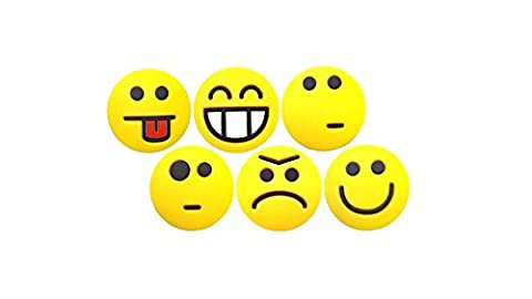 Tennis Feel Sorbifun, antivibrateurs emojis - lot de 6
