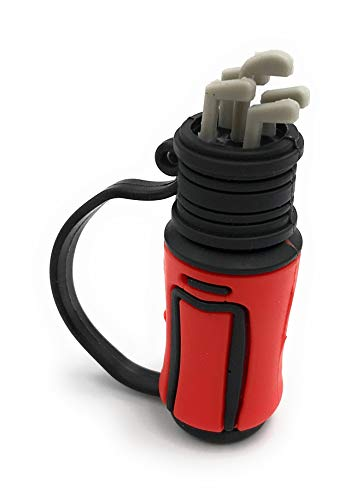 Onlineworld2013 Golftasche Golf Bag Sport Tasche in Rot Funny USB Stick 32 GB USB 2.0
