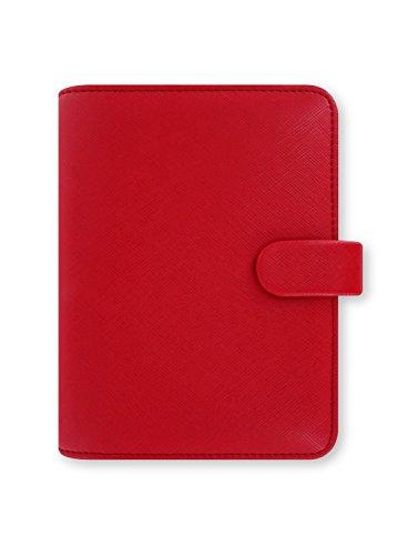 Filofax L022471 Agenda Soffiano, Rosso