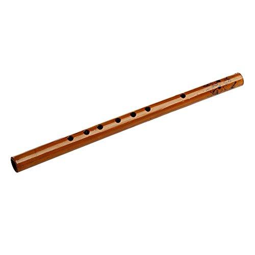 Traditionelle 6Loch Bambus Flöte Klarinette Student Musikinstrument Holz Farbe