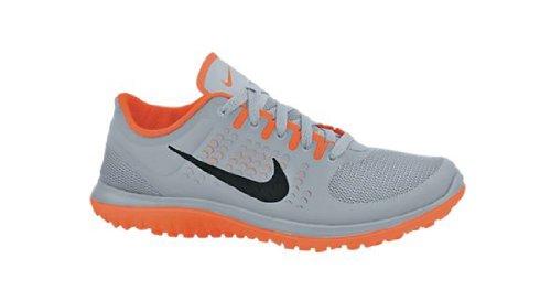 Nike  FS Lite Run, Chaussures de Running Compétition homme Gris - Gris/orange