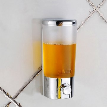 Souked Wall Mounted Bathroom Liquid Soap Dispensers Hand Press Soap Dispenser
