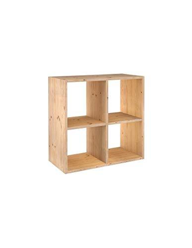 ASTIGARRAGA KIT LINE Estantería modular 2 x 2 cubos