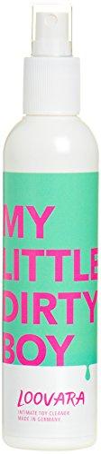 Loovara MyLittleDirtyBoy Reinigungsspray (200 ml) Sexspielzeug Reiniger & Reinigungsmittel, zur hygienischen Reinigung von Sex Toys, geruchsneutralisierend, Toy Cleaner ohne Alkohol & Biozide (Pilz Vera Aloe)