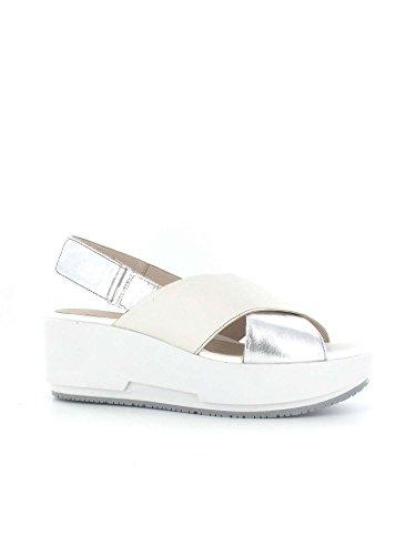 Stonefly 108412 891 Zapatos De Cuña Mujer SILVER/WHITE
