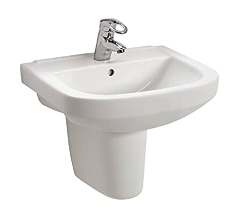 Waschtisch luCanto   55 cm   Weiß  