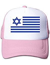Flag Of The Us State Of Israel Nylon Adult Baseball Cap Baseball Cap -