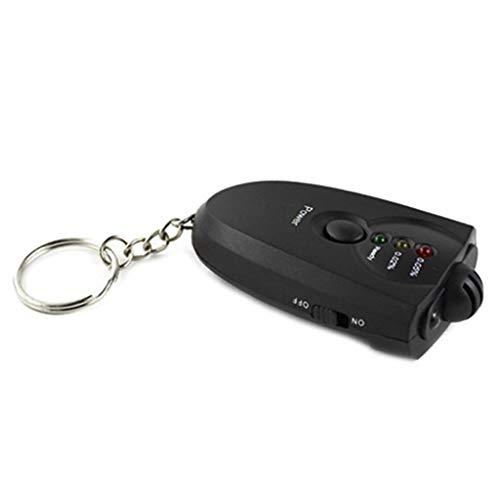 HOTPINK1 Alkoholtester tragbar, sensibler Atemtester mit digitaler Anzeige, LCD-Anzeige, leicht, Taschengröße
