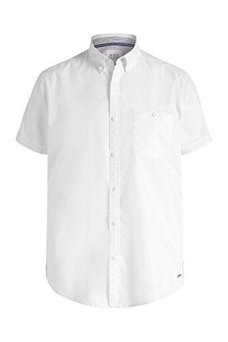 edc by Esprit 046cc2f018 - Basic - Chemise de loisirs - Homme Blanc - Blanc (100)