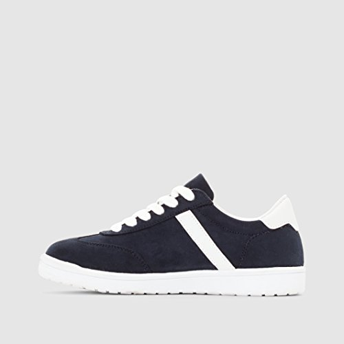 Abcd'r Jungen Flache Sneakers Marine