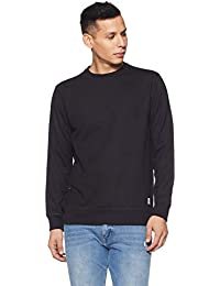 Amazon Brand - Symbol Men's Regular Fit Round Neck Sweatshirt