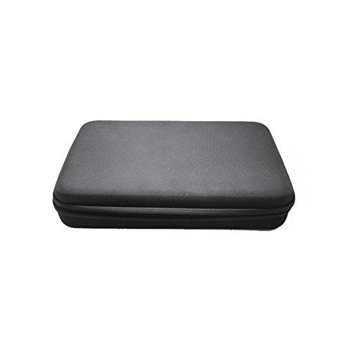 Brain Freezer Water Resistant Shockproof Storage Bag for Gopro Hero 1, 2, 3, 3+, 4, SJCAM Sj4000 Sj5000 Sj5000 and Xiaomi Sports Action Camera (Black)