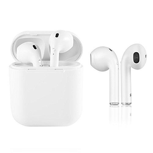 Kabelloses Headset, TWS-i8 Bluetooth Headset, Kopfhörer mit wiederaufladbarem Gehäuse, Apple iPhone 8 8plus 7 7plus 6S Lautsprecher Samsung Galaxy S7 S8 Smartphone Android IOS