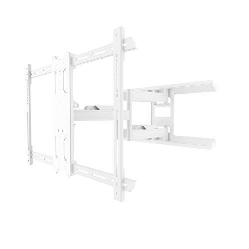 terung / Wandhalterung für 37 - 70 Zoll Flachbildschirm TV, Schwenkbar, Ausziehbar, Neigbar - Überlegene Qualität und Sicherheit - Weiß ()