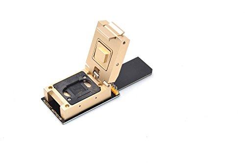 Allsocket emcp162/186aleación adaptador SD lector