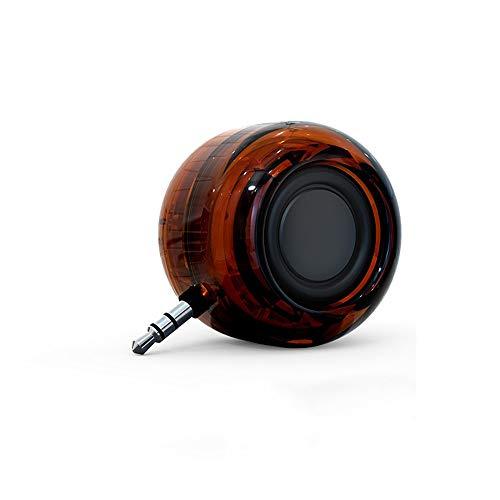 XSCZJL Amplificador de teléfono móvil Audio Altavoz pequeño Recto Mini subwoofer Altavoz...