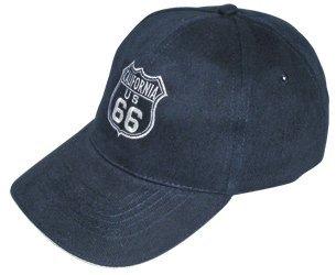 Basecap Route 66 dunkelblau