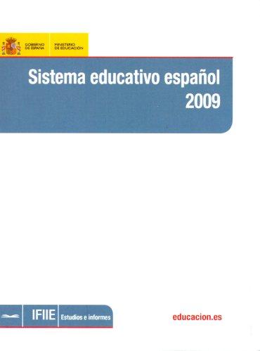 Sistema educativo español 2009