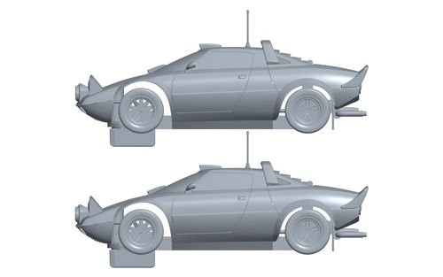 Scalextric-c3894a-Vehículo Miniatura-Coffret