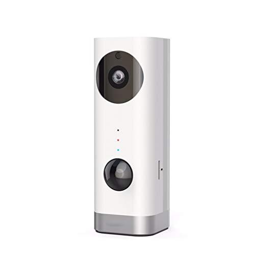 Casio-audio (HD 720P batteriebetriebene Überwachungskamera, drahtlos und drahtlos, Home Security-Kamera mit Nachtsicht- und PIR-Alarm Zwei-Wege-Audio für One-Touch-Anruf Baby)