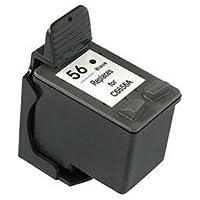 Rigenerate per HP 56 / C6656AE Cartuccia d'inchiostro per Stampanti Photosmart 7660 / Photosmart 7760 / Photosmart 7960 / DeskJet 9650 / DeskJet 9670 / DeskJet 9680 / DeskJet 5650 / Digital Copier 410 / PSC 2410 / PSC 1300 / PSC 1350 .