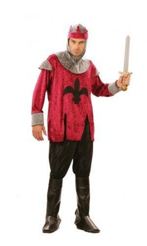 Renaissance King Costume Outfit for Medieval Fancy Dress