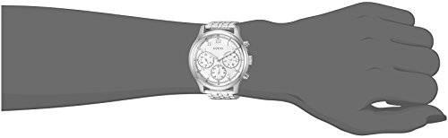 GUESS Women's Analog Quartz Watch with Stainless-Steel Strap U1018L1