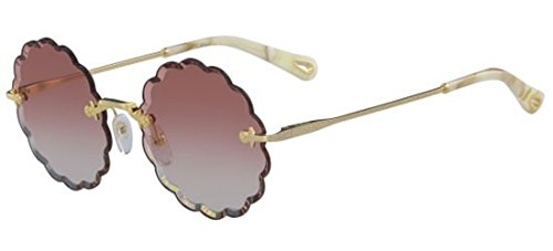 Sonnenbrillen Chloé ROSIE CE142S GOLD/CORAL SHADED Damenbrillen
