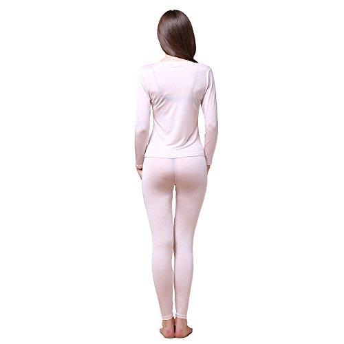 Paradise Silk -  Coordinato abbigliamento termico  - Donna Beige