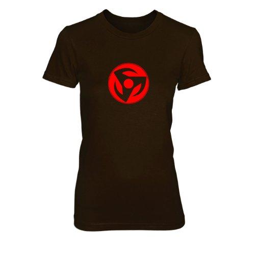 Hatake Kakashi - Damen T-Shirt, Größe: M, Farbe: (Kakashi Kostüm Sensei)
